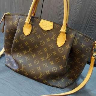 Louis vuitton turenne MM monogram brown shoulder handbag