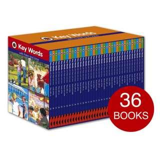 🚚 Ladybird Key Words with Peter and Jane Hardback Complete Book Collection (36 Books)