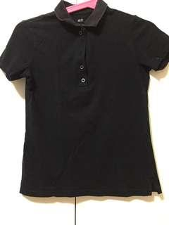 UNIQLO Women's Black Polo Shirt