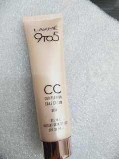 Cc Cream Lakme 9to5