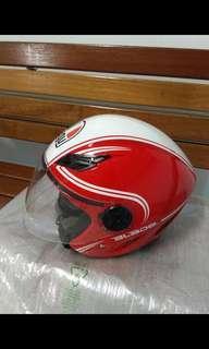 Agv Helmet Open Face Motorbike Apparel Carousell Singapore