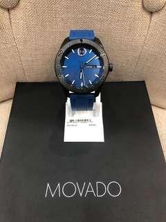Movado Bold Series Mens Black Pvd Steel Swiss Quartz Watch