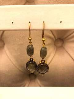 Quartz Stone Earring