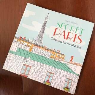 Secret Paris Coloring Book