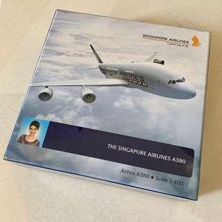 🚚 Collectible SIA Airbus A380 model airplane scale 1:400