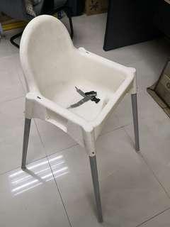 Antilop children high chair (white)