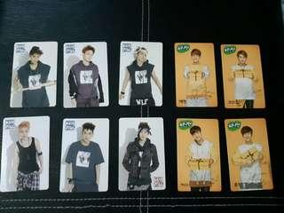 EXO BWCW SUNNY10 Official Photocard