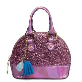 Mini Glitter Girl Handbag For Girls  - Design SK01