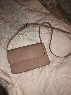 Nude Cross Body Bag