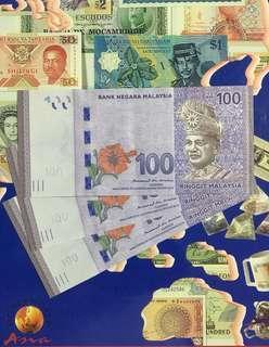 Malaysia 🇲🇾 Rm 100 ~ 3 runs (10 runs available)