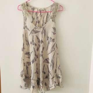 🚚 River Island Size 6 Sequins Sparrow Long Too