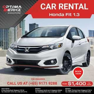 Brand New Honda Fit 1.3