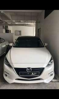 CAR RENTAL MAZDA 3 HIGH SPEC AVAILABLE