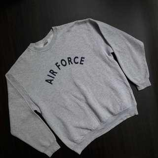 Crewneck Air Force by Campbellsville Apparel Company USA