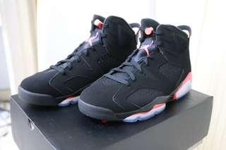 🏀現貨一對🏀Air Jordan 6 Infrared Retro basketball Sneakers 佐敦第六代籃球鞋