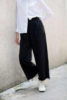 Denim Wide Jeans Black (BNIB)