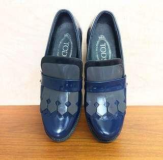 Tods Original Classic Gomma Fringe Leather