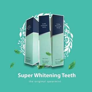 Super whitening theeth