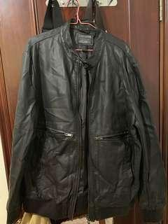 Forever 21 Lux Leather Jacket