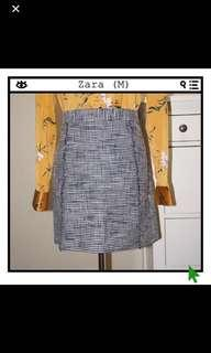 Zara Tweed Skirt