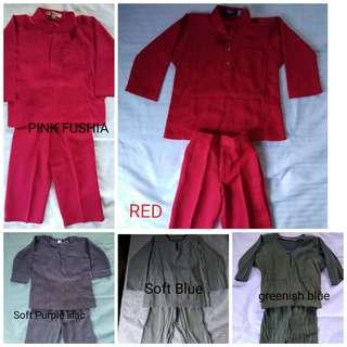 Baju Melayu For Kids