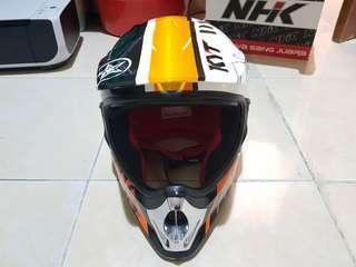 Helm Motocross KYT Orange