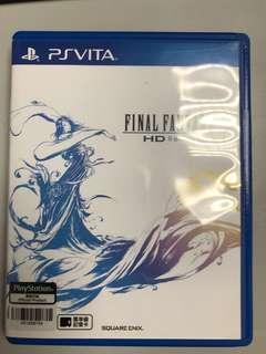 PSVita final fantasy x hd remaster