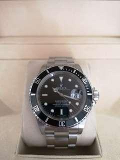 Rolex Submariner Black 16610LN 40mm Automatic