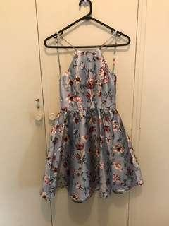 DOTTI new with tags floral summer formal dress size 6 XS