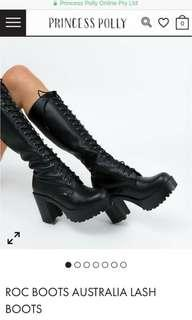 Roc lash boots