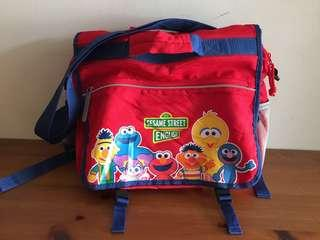 Sesame Street Kids Bag / tuition bag