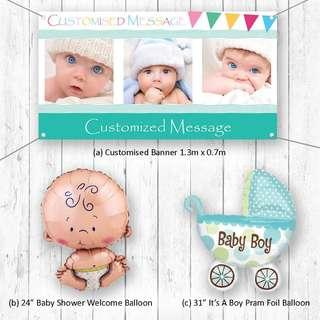 Baby Shower Boy Party Package Party Wholesale Singapore