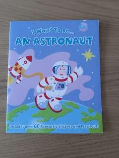 🚚 I want to be an astronaut activity book