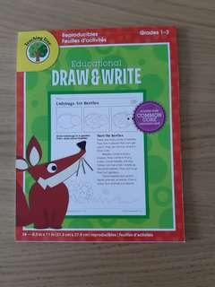 🚚 Educational draw and write