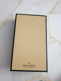 🚚 Authentic Braun Buffel blue leather wallet