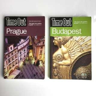 Time Out Guides (Prague & Budapest)