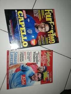 Majalah Bola Vaganza dan Four Four Two Indonesia