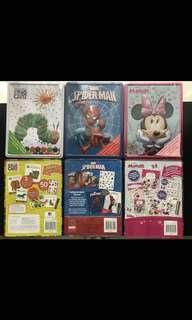 Tin activity Box ( pilihan: caterpilar, spiderman, & minnie )