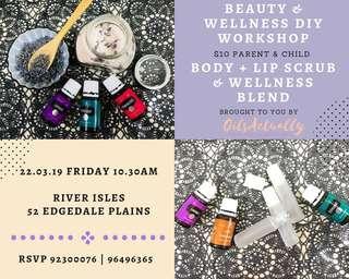 Beauty & Wellness DIY Workshop