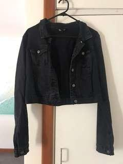 Jay jays black denim jacket
