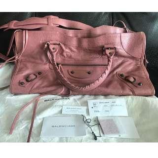 63927f2893 balenciaga bag pink