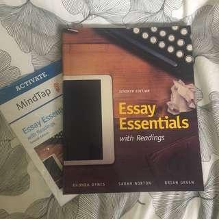 Essay essentials + access code (7th ed)