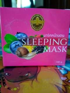 Snail Sleeping mask Thailand