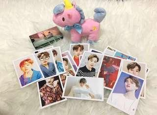 LOMO CARD BTS  (love yourself : Answer)