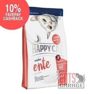 🚚 Happy Cat® Sensitive - Ente Duck Gluten Free (2 Sizes)