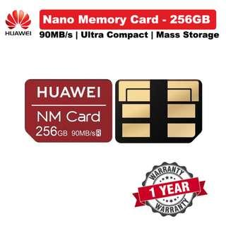 🚚 Huawei 256gGB NM Card Nano Memory Card 90MB/s 256GB