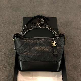 Chanel Gabrielle Medium Hobo Bag in Black