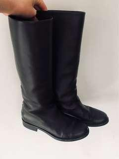 Sante Borella Leather Knee Height Boots US 9