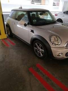 Mini Cooper for rental