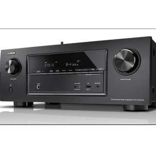 Denon X3300 - Dolby Atmos and DTS-X AV Receiver with HDR-10 and Dolby Vision